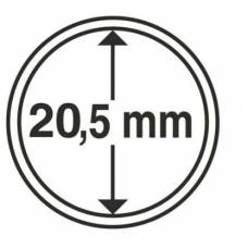 Капсула 20.5 мм для хранения монет.