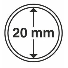 Капсула 20 мм для хранения монет.