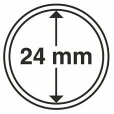 Капсула 24 мм для хранения монет.