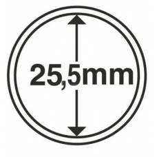 Капсула 25.5 мм для хранения монет.