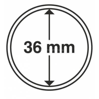 Капсула 36 мм для хранения монет.