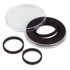 """Универсальная круглая капсула для монет размер """"E"""" (16;21;26;31;36мм)."""