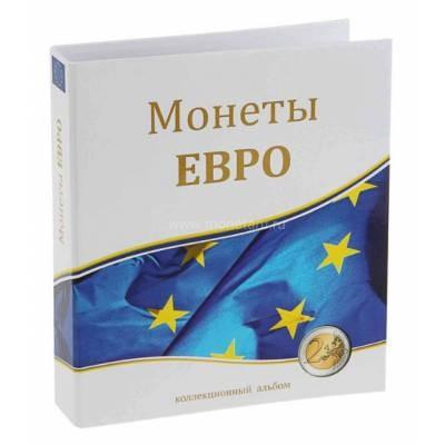 "Папка стандарт «Optima» 230х270 ""Монеты ЕВРО"" (без листов)"