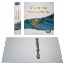"""Папка стандарт """"Optima"""" 230х270 """"Монеты Казахстана"""" (без листов)."""