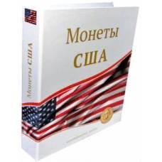 "Папка стандарт ""Optima"" 230х270 ""Монеты США"" (без листов)."