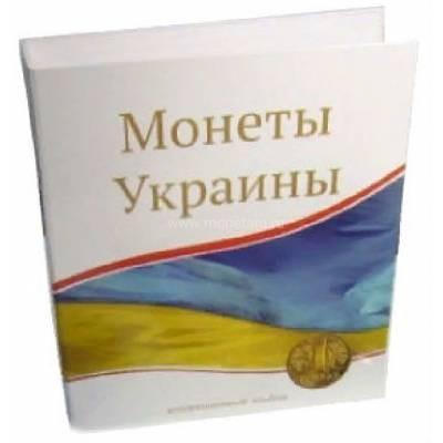"Папка стандарт ""Optima"" 230х270 ""Монеты Украины"" (без листов)."