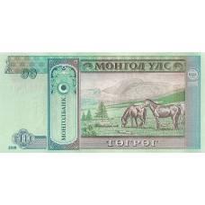 10 тугриков Монголия 2018 UNC