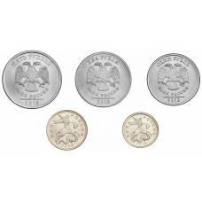 Набор разменных монет 2013 СПМД