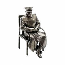 Статуэтка Сталин (мельхиор)